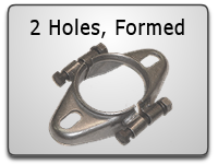 Formed 2 Hole Split Flanges