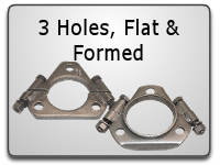 Flat & Formed 3 Hole Split Flanges