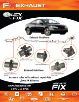 FX Exhaust Repair Line